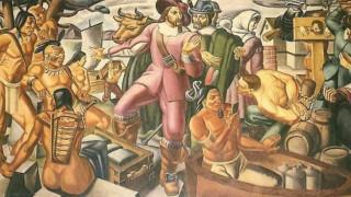 Smartophone απεικονίζεται σε πίνακα του 1930; Όλα έχουν μια εξήγηση