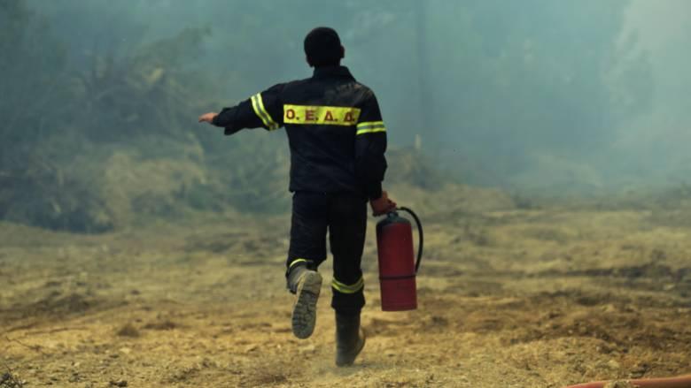 Μεγάλος ο κίνδυνος πυρκαγιάς την Κυριακή