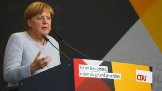 Γερμανία: Αποδοκιμασίες κατά της Μέρκελ σε προεκλογική συγκέντρωση