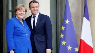 Μακρόν, Μέρκελ, Ραχόι και Τζεντιλόνι σε συνάντηση στο Παρίσι - Τι περιέχει η ατζέντα των συνομιλιών
