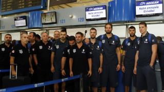 Eurobasket 2017: «Πέταξε» για Φινλανδία η εθνική ομάδα