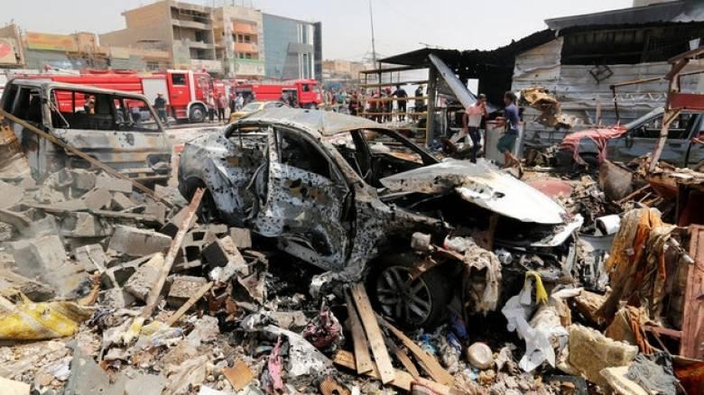 Ιράκ: Έκρηξη παγιδευμένου οχήματος στη Βαγδάτη - Νεκροί και τραυματίες (pics)