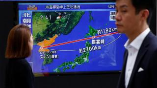 Νέα εκτόξευση πυραύλου από την Β. Κορέα - ΗΠΑ και Ν. Κορέα θα απαντήσουν «δυναμικά» στην πρόκληση