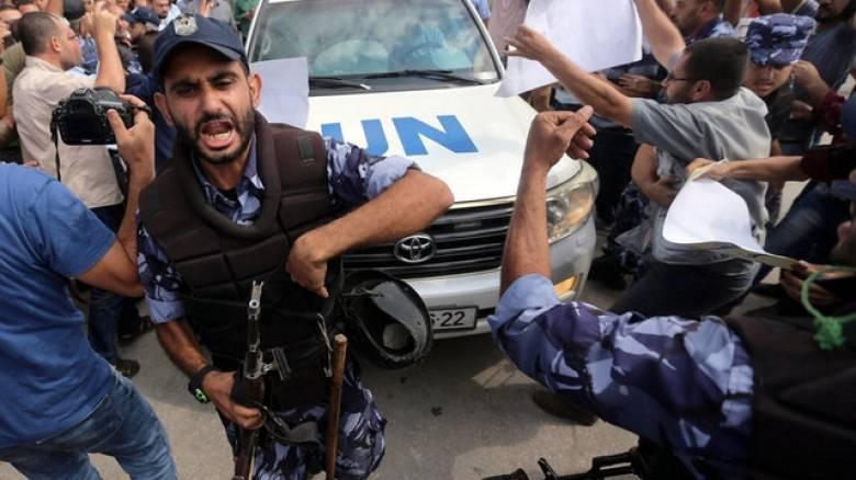 Αποδοκιμάστηκε στη Γάζα ο Γκουτέρες (pics)