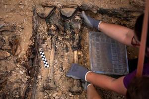 Λείψανα θυμάτων της εποχής του εμφυλίου πολέμου