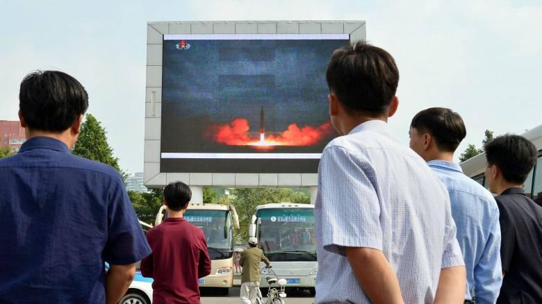 Βίντεο: Η στιγμή της εκτόξευσης του πυραύλου από τη Βόρεια Κορέα