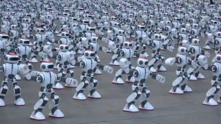 Ο μεγαλύτερος χορός των ρομπότ