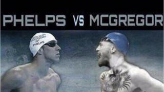 Ο Μάικλ Φελπς προκαλεί τον Κόνορ ΜακΓκρέγκορ σε... αγώνα κολύμβησης (pic&vid)