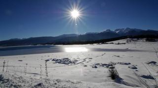 Αυγουστιάτικο χιόνι στη Μογγολία