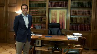 Διαδοχικές συναντήσεις για τον Αλ.Τσίπρα στο Μαξίμου την Παρασκευή