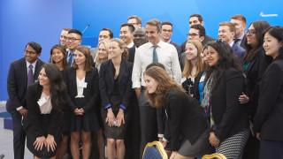 Συζήτηση Μητσοτάκη με φοιτητές του Stanford: Τι «υπόσχεται» για τις πρώτες 100 μέρες του (pics)