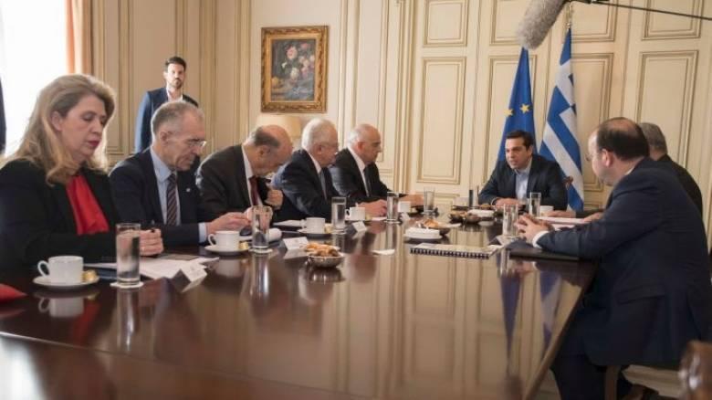 Συνάντηση των τραπεζιτών με τον Αλέξη Τσίπρα