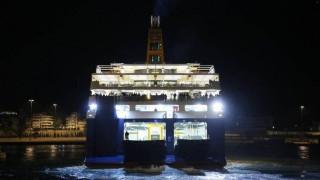 Επιχείρηση αποκόλλησης του «Blue Star Patmos»