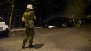 Τρεις επιθέσεις σε διμοιρίες των ΜΑΤ στα Εξάρχεια
