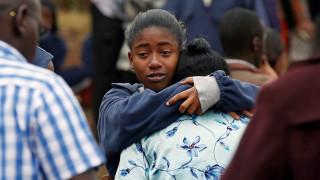 Φονική πυρκαγιά σε κοιτώνα οικοτροφείου στην Κένυα (pics)