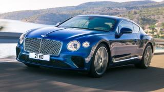 H καινούργια Bentley Continental GT είναι πιο πολυτελής και ακόμα πιο δυνατή και γρήγορη