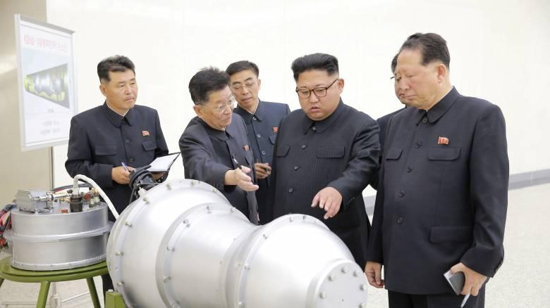 Η Βόρεια Κορέα πραγματοποίησε δοκιμή βόμβας υδρογόνου