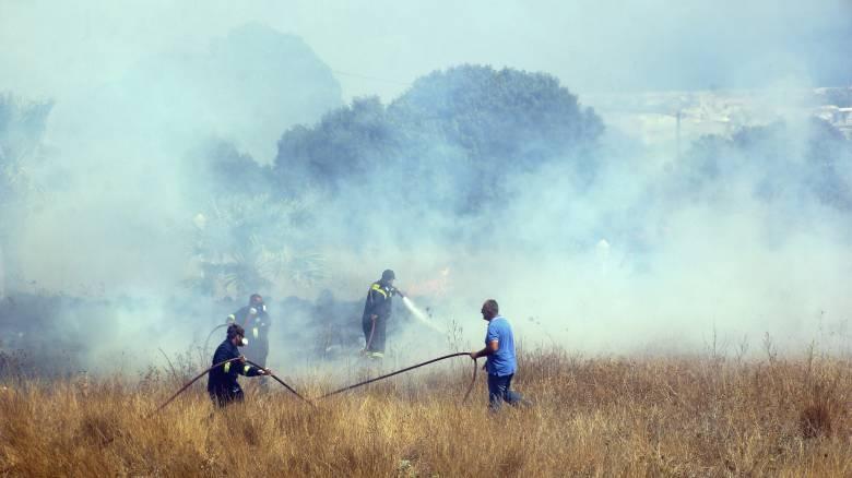 Πυρκαγιά στον Κουβαρά Αττικής