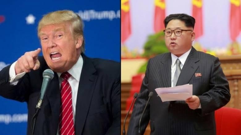 Τραμπ: Η Βόρεια Κορέα είναι μεγάλη απειλή για τις ΗΠΑ και ντροπιάζει την Κίνα