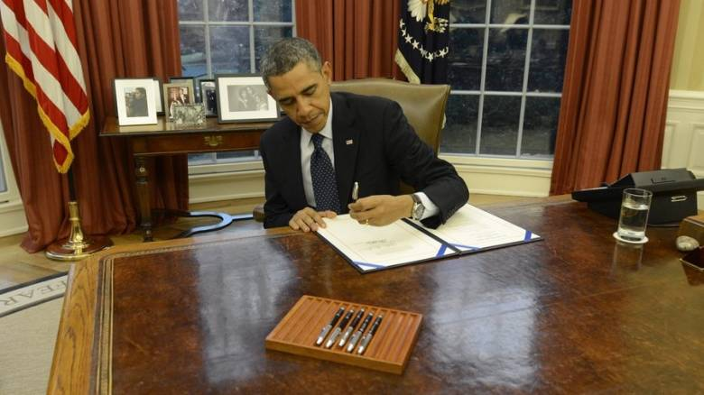 CNNi Αποκλειστικό: Το γράμμα που άφησε ο Μπαράκ Ομπάμα στο Οβάλ γραφείο για τον Τραμπ