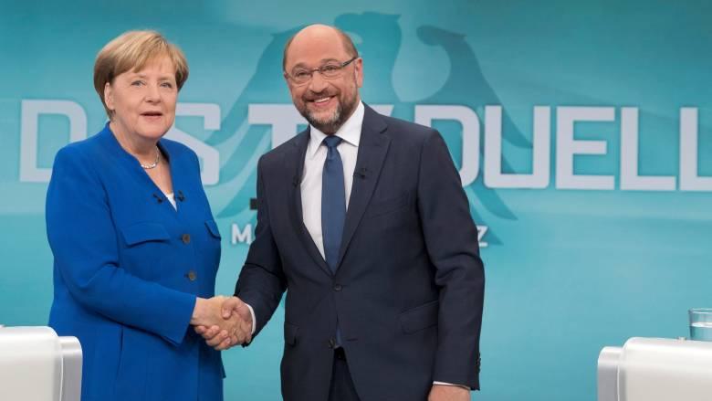 Ντιμπέιτ Γερμανία: Μέρκελ και Σουλτς θέλουν την Τουρκία εκτός Ε.Ε.
