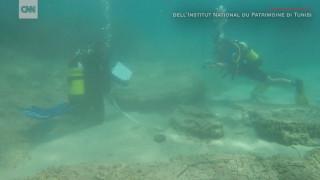 Ερείπια αρχαίας ρωμαϊκής πόλης βρέθηκαν στο βυθό ανοιχτά της Τυνησίας
