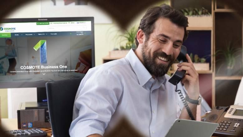 COSMOTE Business One: Προηγμένες υπηρεσίες τηλεφωνικού κέντρου και virtual fax για τις επιχειρήσεις