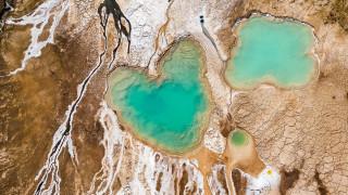 Νεκρά Θάλασσα: Η Θάλασσα των πολλών προσώπων από ψηλά (Pics)