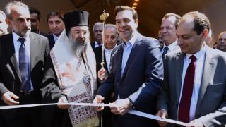 Τσίπρας: Η ολοκλήρωση της Ιόνιας Οδού ανοίγει προοπτικές ανάπτυξης και τουρισμού (pics&vid)