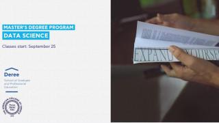 Νέο μεταπτυχιακό πρόγραμμα σε Data Science από το Deree