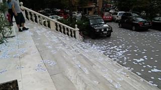 Βίντεο των αντιεξουσιαστών από την εισβολή στο υπουργείο Μακεδονίας - Θράκης