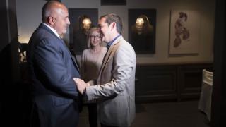 Δείπνο του Τσίπρα με τον πρωθυπουργό της Βουλγαρίας - Την Τετάρτη το μνημόνιο συνεργασίας