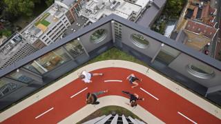 Προπόνηση στον… 16ο όροφο με θέα το Λονδίνο