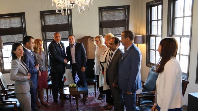 Τσίπρας: Καίριας σημασίας η συνεργασία Ελλάδας - Βουλγαρίας (pics&vid)