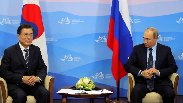 Στις διαπραγματεύσεις με την Β.Κορέα επιμένει ο Πούτιν - Πιθανή συνάντηση αντιπροσώπων των δύο χωρών