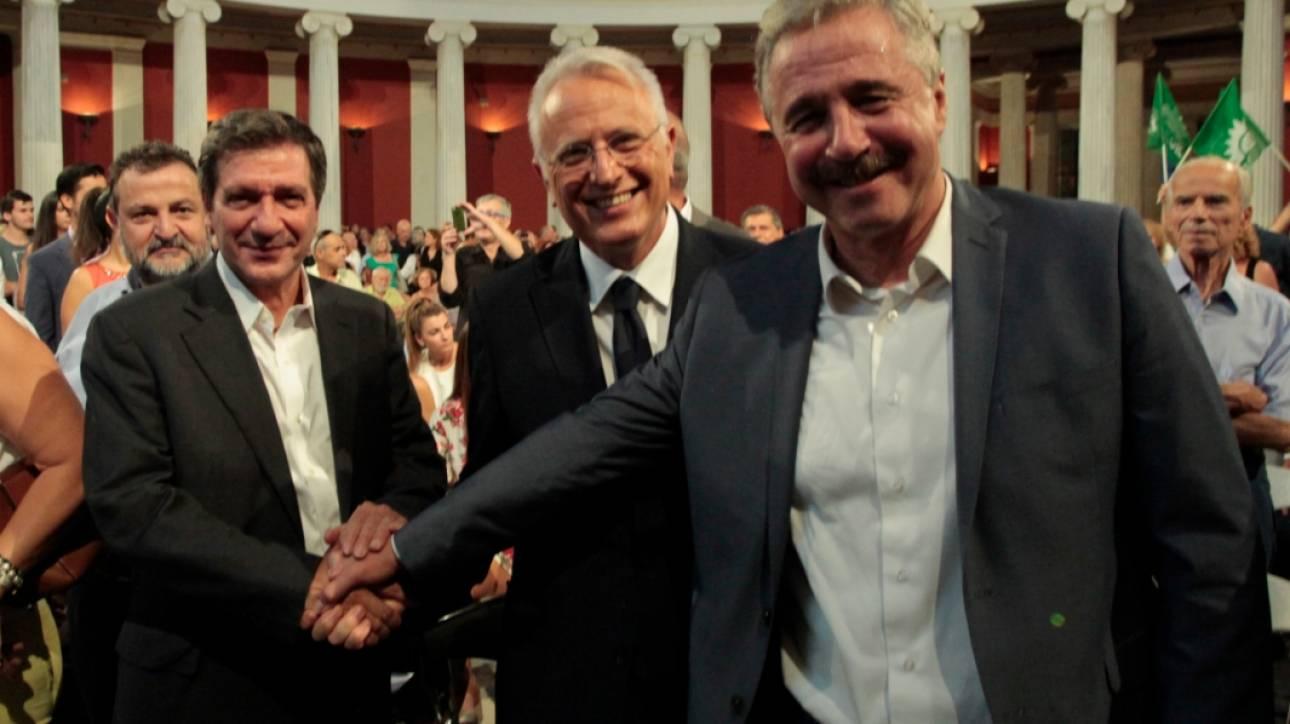 Και επίσημα υποψήφιος του νέου φορέα της Κεντροαριστεράς ο Μανιάτης