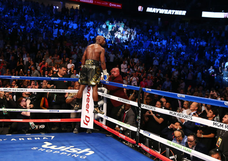 2017 08 27T050956Z 1553656854 NOCID RTRMADP 3 BOXING MAYWEATHER VS MCGREGOR