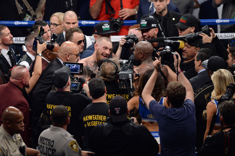 2017 08 27T055022Z 1134556243 NOCID RTRMADP 3 BOXING MAYWEATHER VS MCGREGOR