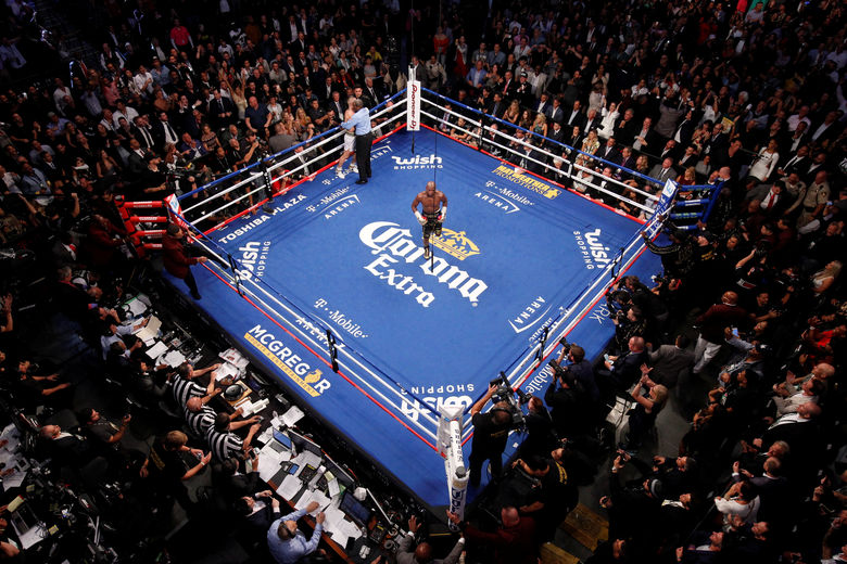2017 08 27T092127Z 956526532 RC119B122E50 RTRMADP 3 BOXING MAYWEATHER MCGREGOR