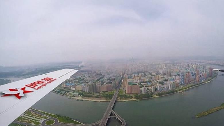 Η Πιονγκγιάνγκ από ψηλά: Μια πόλη με άρτια υποδομή αλλά χωρίς κόσμο (Vid)