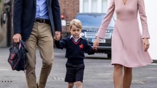 Πρώτη μέρα στο σχολείο για τον πρίγκιπα Τζορτζ (pics)