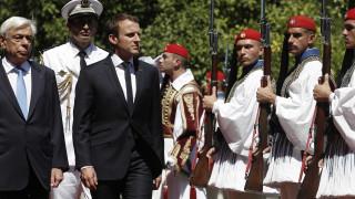 Παυλόπουλος σε Μακρόν: Η Ευρώπη να πράξει αυτό που της αναλογεί, κυρίως σε ό,τι αφορά το χρέος