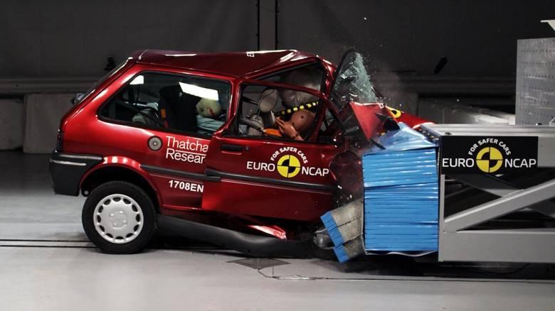 Το ανατριχιαστικό πρώτο crash test του οργανισμού αξιολόγησης ασφάλειας EuroNCAP