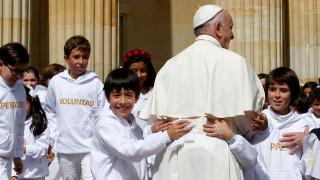 Το μήνυμα του Πάπα στους νέους: Να ονειρεύεστε και να συγχωρείτε