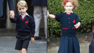 Η «γαλαζοαίματη» συμμαθήτρια του πρίγκιπα Τζορτζ που διεκδικεί μία θέση στην καρδιά του (pics&vid)