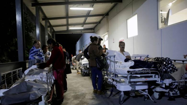 Μεξικό: Βίντεο τη στιγμή που «χτυπά» ο εγκέλαδος