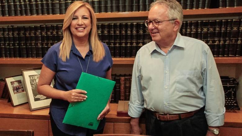 Κατέθεσε και επίσημα την υποψηφιότητά της η Φώφη Γεννηματά