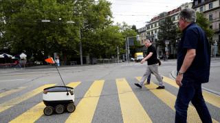 Ένα ρομπότ-ταχυδρόμος στην Ελβετία