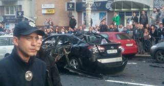 Εξερράγη αυτοκίνητο στο κέντρο του Κιέβου