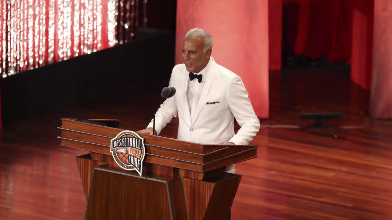 Συγκλονίζει ο «θρύλος» Νίκος Γκάλης στο Hall of Fame (vid)